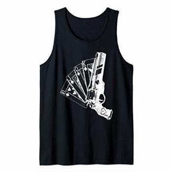 Ace of Space Destiny Remember Me JQK game Japanese Tank Top